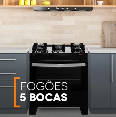 Fogão 5 Bocas Atlas Eletrodomésticos